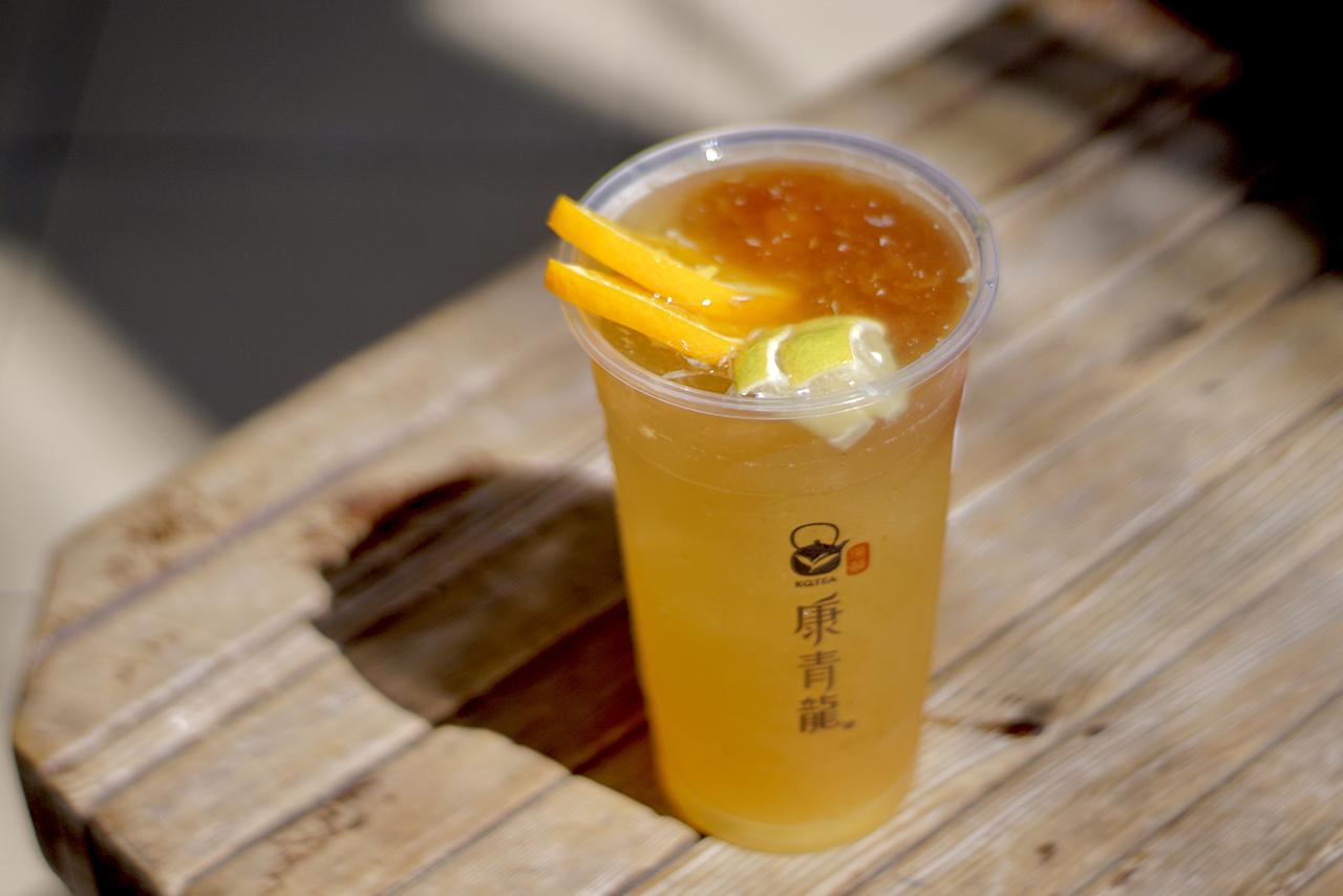 鳳心橙香冰茶