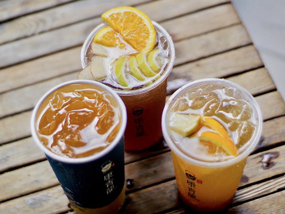 康青龍推薦解暑必喝Top3|格雷冰茶、鳳心橙香冰茶、青龍莓果飲(逢甲店)