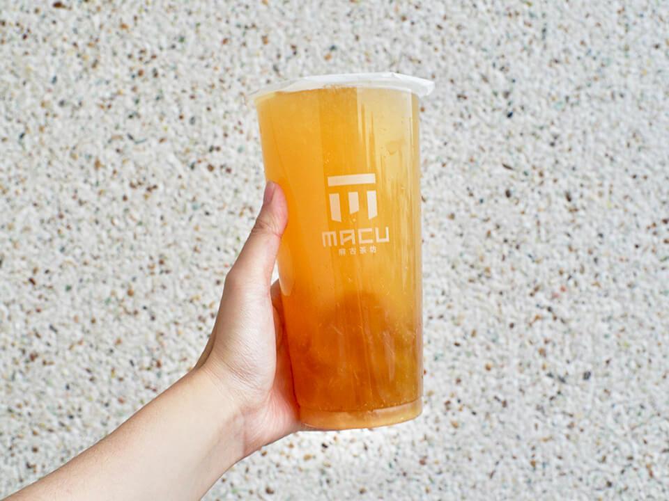 麻古茶坊翡翠柳橙