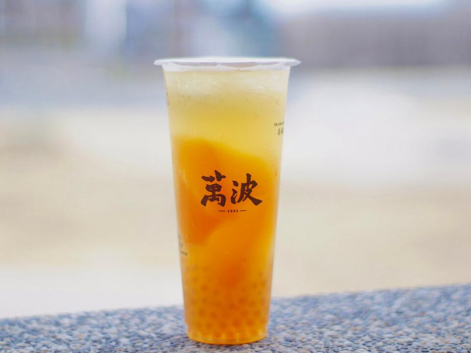 素美婷檸檬愛玉粉圓冰